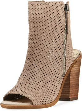 Dolce Vita Noraly Perforated Dress Bootie, Taupe