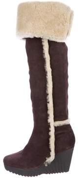 Diane von Furstenberg Shearling Boots