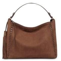 AllSaints Kep East-West Leather Shoulder Bag