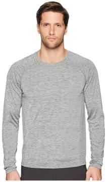 White Sierra Techno II Seamless Long Sleeve Tee Men's Long Sleeve Pullover