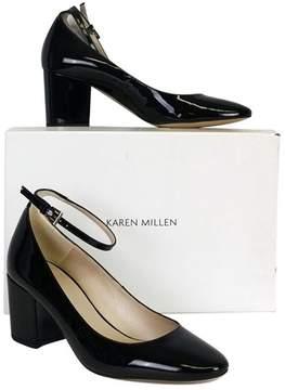 Karen Millen Black Ankle Strap Pumps