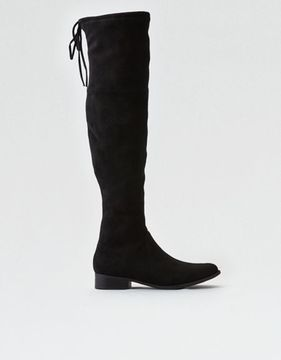 American Eagle Outfitters AE Tie Over-The-Knee Boot