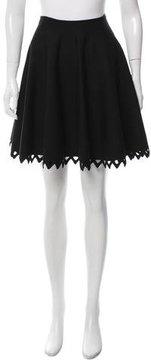 Alaia Cutout Wool Skirt w/ Tags