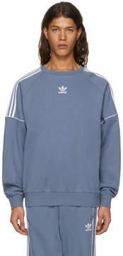 adidas Grey Pipe Crew Sweatshirt