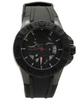 GUESS Men's U0034G3 Black Analog Sport Watch