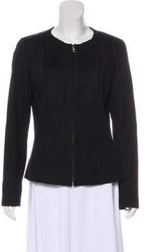 Tahari Structured Woven Jacket