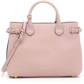 Burberry Medium Banner Bag - PALE ORCHID|ROSA - STYLE