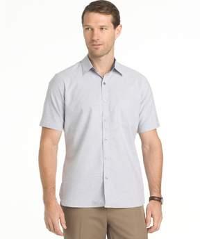 Van Heusen Big & Tall Untucked Regular-Fit Button-Down Shirt