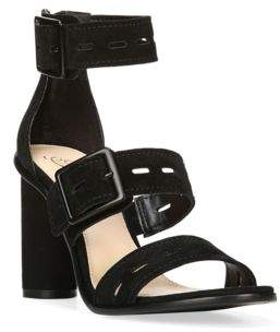 Fergie Open-Toe Suede Sandals