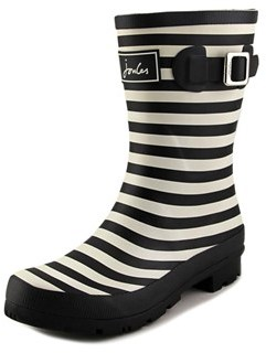 Joules Mollywelly Round Toe Synthetic Rain Boot.