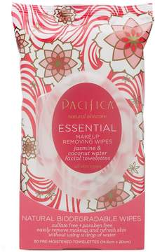 Pacifica Essential Makeup Removing Wipes by 30 Wipes)