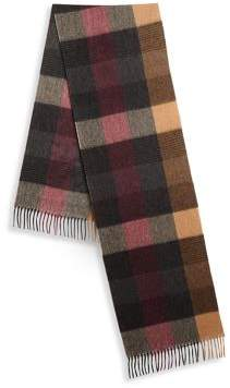 Saks Fifth Avenue COLLECTION Four Color Shadow Stripe Scarf