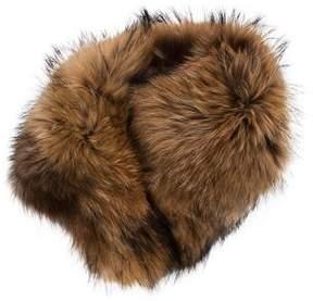 Adrienne Landau Multitonal Fur Stole