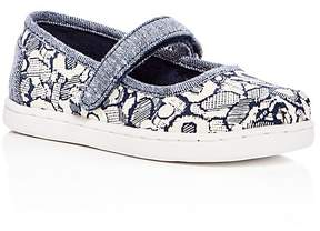 Toms Girls' Mary Jane Flats - Baby, Walker, Toddler