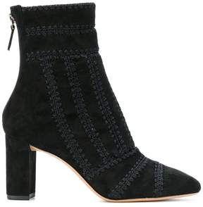 Alexandre Birman zipped embroidered boots