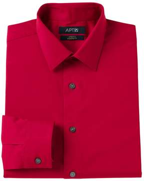 Apt. 9 Men's Modern-Fit Stretch Spread-Collar Dress Shirt