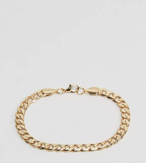 Reclaimed Vintage Inspired Curb Link Bracelet In Gold Exclusive To ASOS