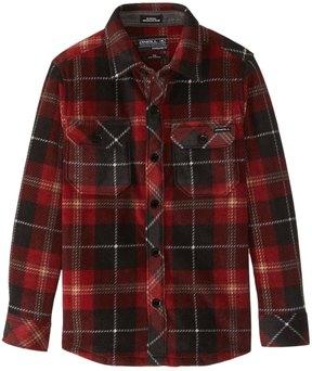 O'Neill Boys' Glacier Plaid Flannel Shirt (Toddler, Little Kid) 8167357