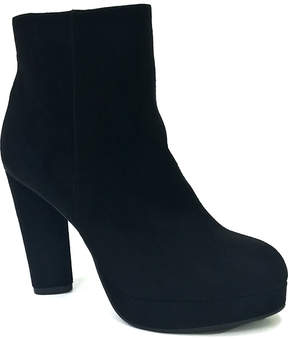 Bamboo Matte Black Twisty Bootie
