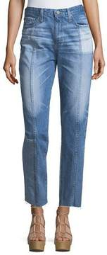 AG Jeans The Phoebe High-Rise Tapered Leg Jeans