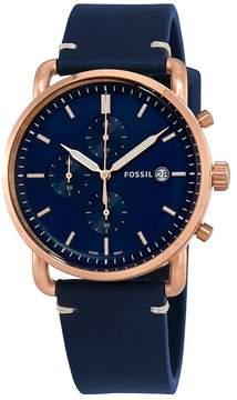 Fossil Commuter Chronograph Blue Dial Men's Watch