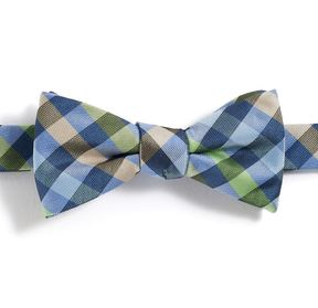 Chaps Boys 4-20 Plaid Bow Tie