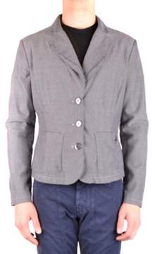 Armani Jeans Men's Grey Cotton Blazer.
