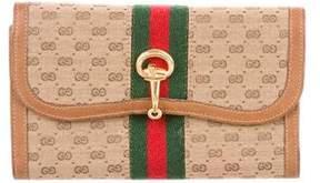 Gucci Vintage GG Plus Web Wallet