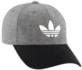 adidas Men's Trefoil Plus Snapback Cap - Black