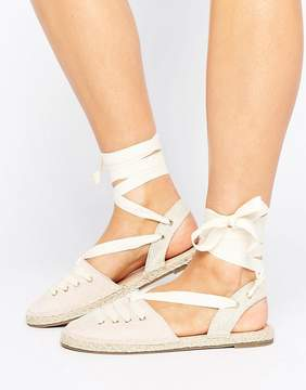 Head Over Heels By Dune Giah Tie Detail Espadrilles