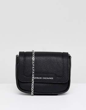 Armani Exchange chain camera crossbody bag