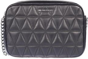 Michael Kors Quilted Crossbody Bag - BLACK - STYLE