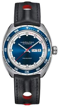 Hamilton Men's American Classic Pan Europ Automatic Leather Strap Watch; 42Mm
