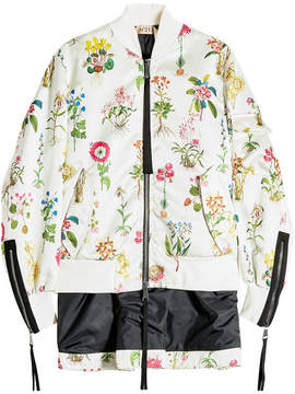 N°21 N21 Printed Satin Jacket