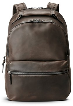 Shinola Men's Runwell Leather Backpack - Black