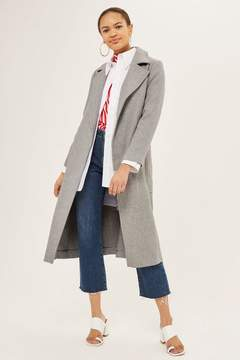 Topshop Super soft belted coat