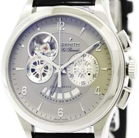 Zenith Class Open 03.0510.4021 Stainless Steel Automatic 40mm Mens Watch