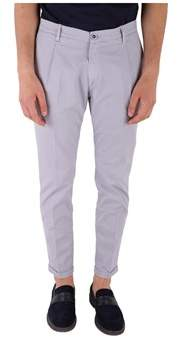 Re-Hash Men's Light Blue/grey Cotton Pants.