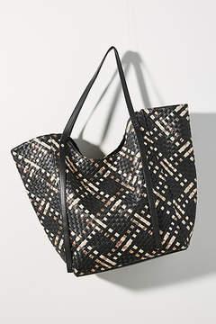 Deux Lux Cara Woven Tote Bag