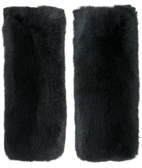 Yves Salomon appliqué gloves