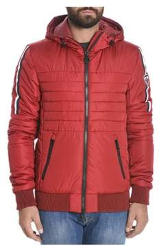 Rossignol Men's Red Polyester Down Jacket.