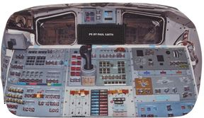 Paul Smith Russian Spaceship Wash Bag