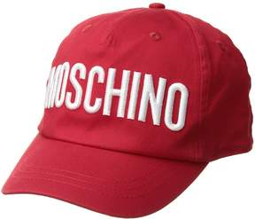 Moschino Kids Hat w/ Logo Embroidery Caps