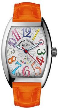 Franck Muller Ladies Color Dreams Curvex Watch with Alligator Strap
