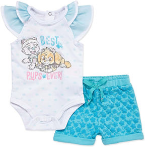 Nickelodeon 2-pc. Paw Patrol Bodysuit Set-Newborn Girls