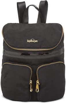 Kipling Carter Backpack - BLACK PATENT COMBO - STYLE
