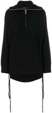 Barbara Bui drawstring zip jumper