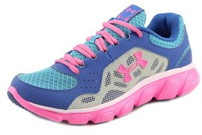 Under Armour Ggs Micro G Assert Iv Round Toe Synthetic Sneakers.