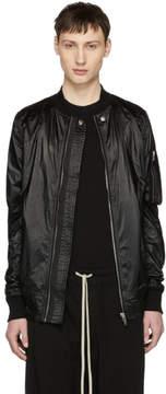 Rick Owens Black Flight Jacket