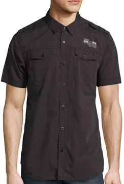 i jeans by Buffalo Short-Sleeve Meyer Woven Shirt
